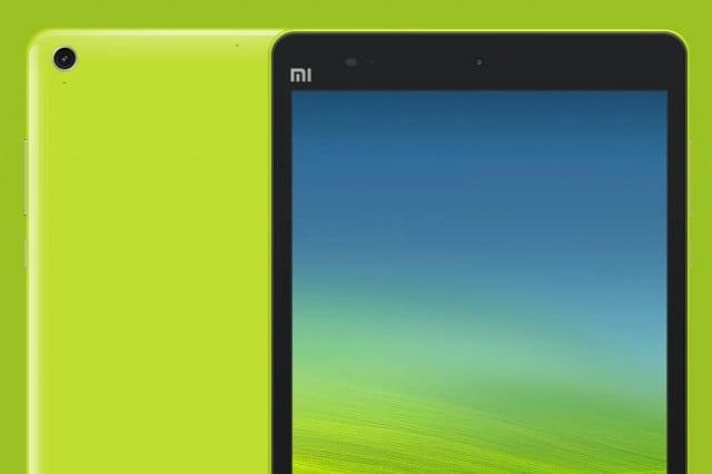 xiaomi mi  news pad green top macro