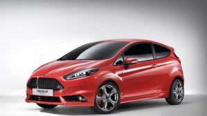 Ford Fiesta ST concept front three-quarter view