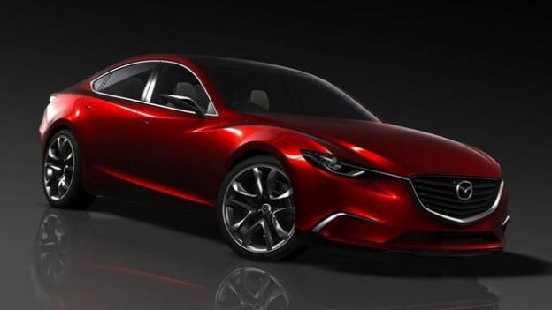 Mazda Takeri press release photo