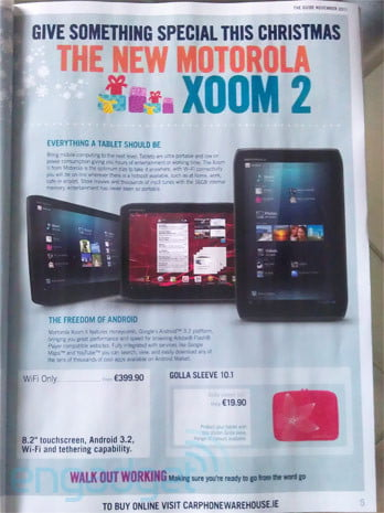 xoom  carphone warehouse leak