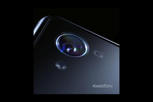 xperia z  smart lenses leak ahead of official reveal g lens teaser
