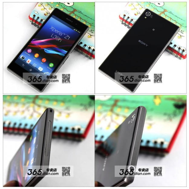 Xperia Z1 Leaked Pictures