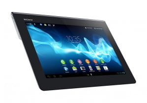 Sony Xperia Tablet S home screen