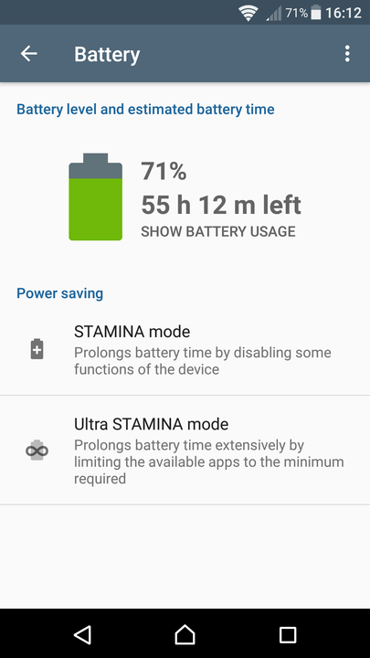 xperia x tips and tricks battery