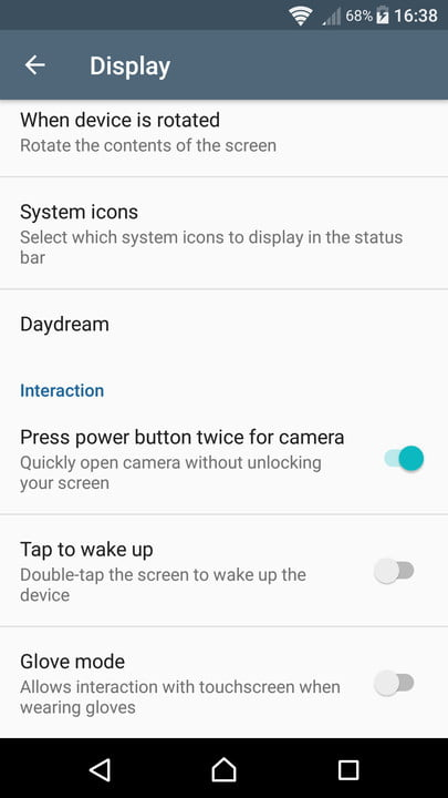xperia x tips and tricks camera launch