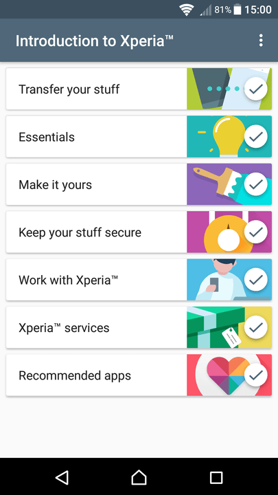 xperia x tips and tricks