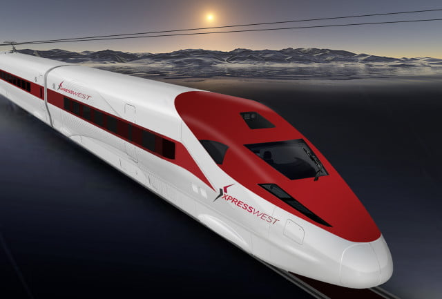 china high speed train vegas xpresswest