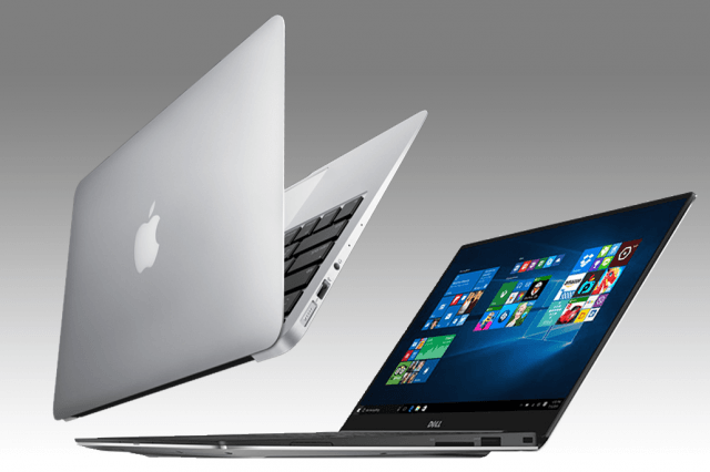 dell xps  vs macbook air