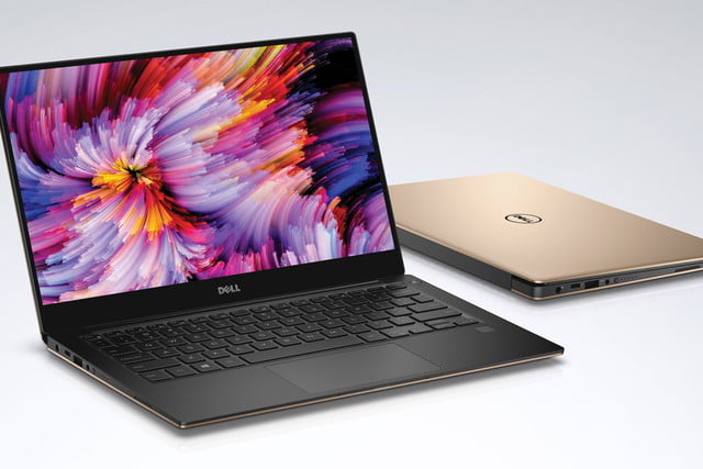 dell xps  rose gold