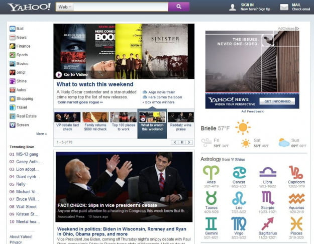 yahoo homepage business insider