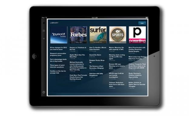 Yahoo Livestand for the iPad