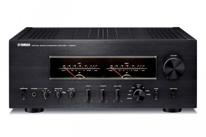 yamaha introduces a s  and cd audio components front