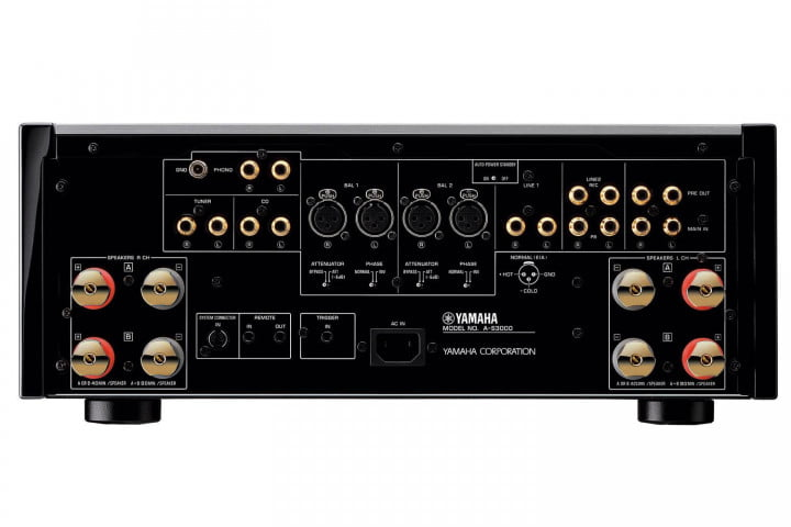 yamaha introduces a s  and cd audio components rear