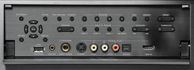 yamaha-rx-a3010-receiver-front-controls-flip-down