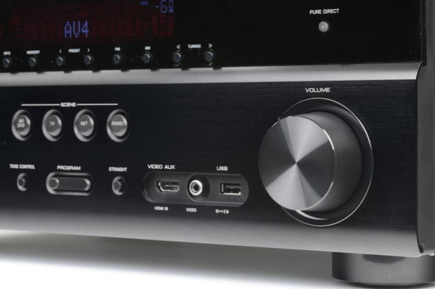 Yamaha RX V773 receiver review volume av receiver home theater