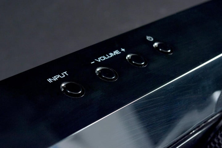 yamaha ysp  review volume controls