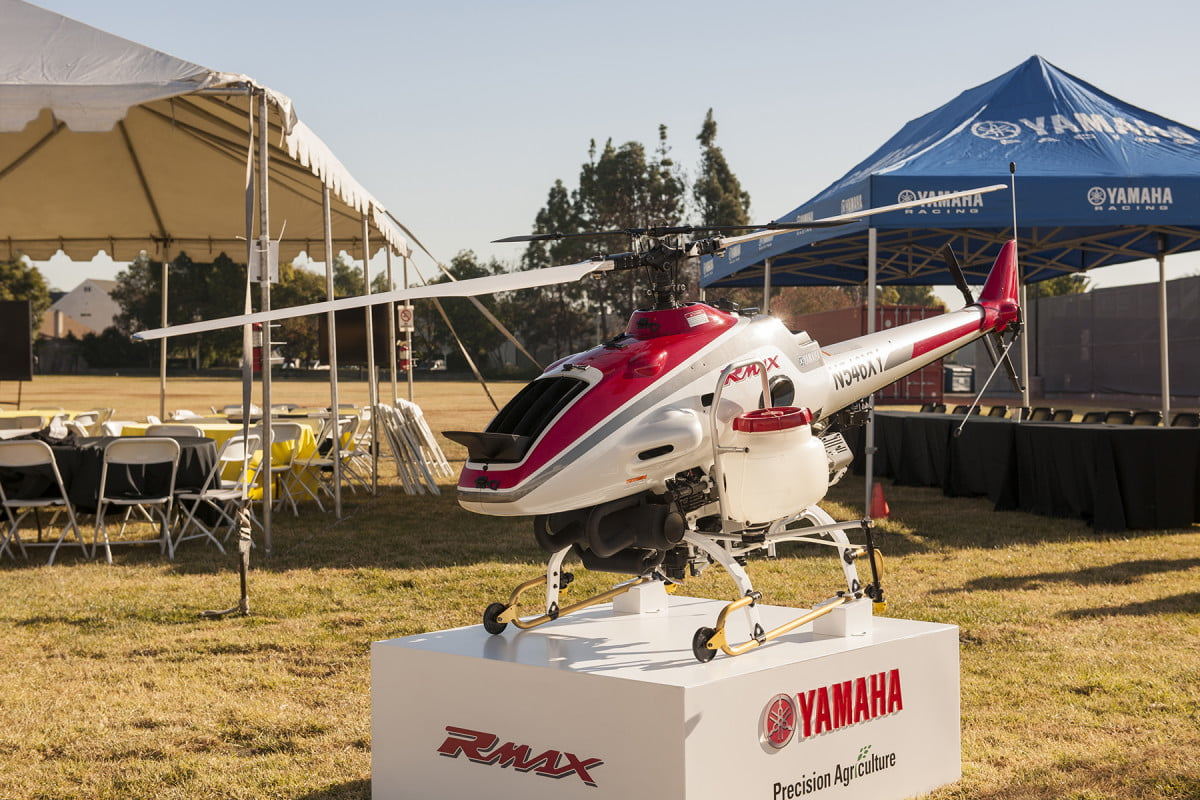 yamaha rmax agricultural drones faa approval drone