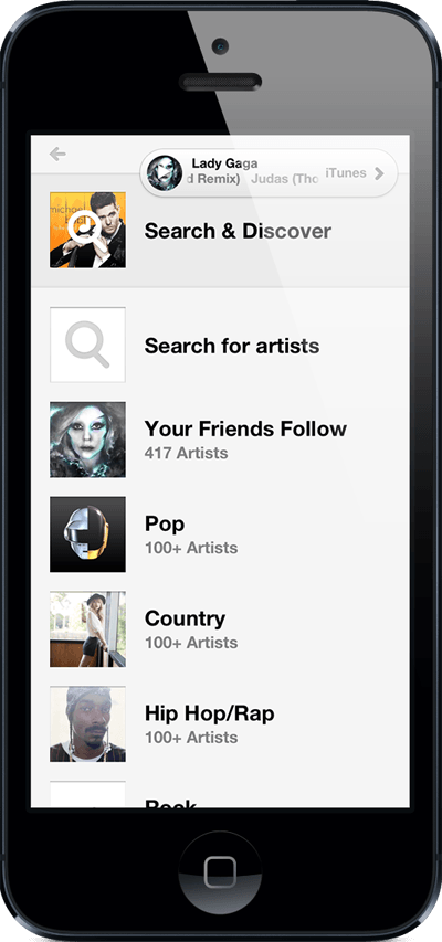 Yap Music - Search and discover