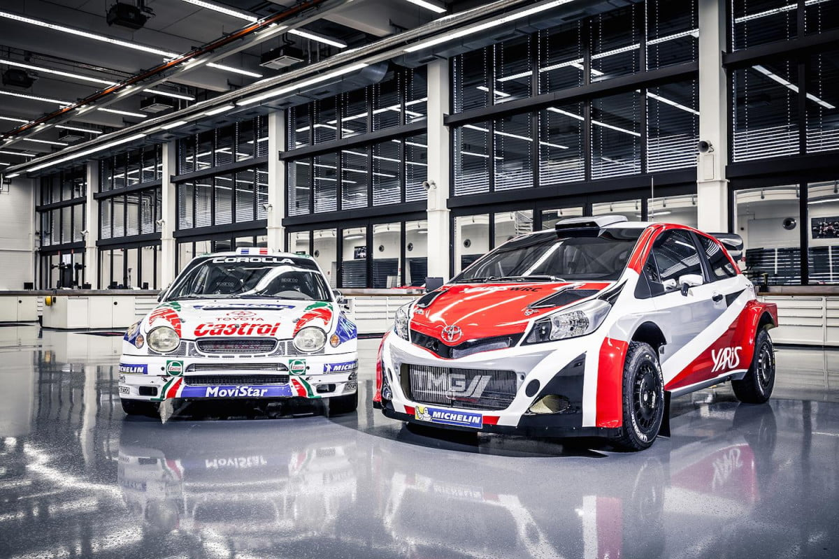 toyotas wrc return may mean we get a rally spec yaris toyota