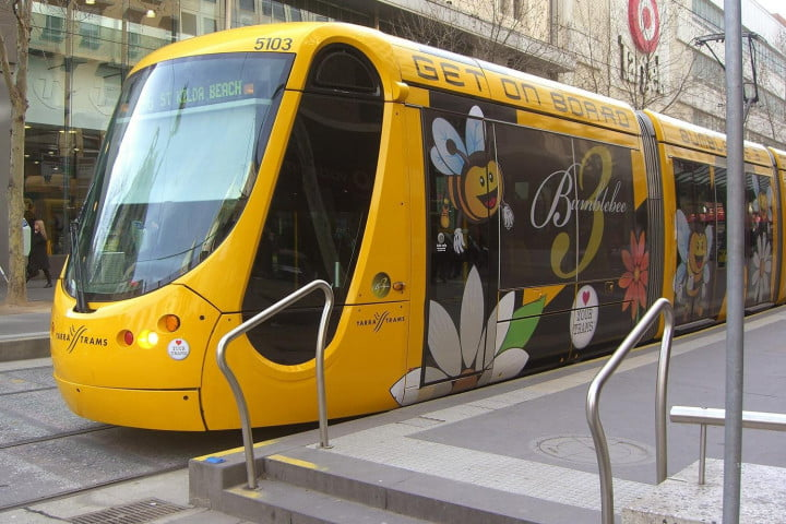 traffic drives reduced urban auto usage tram