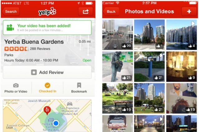 yelp pans add new video feature reviews