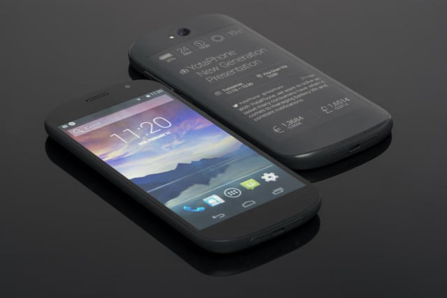 second generation yotaphone photo