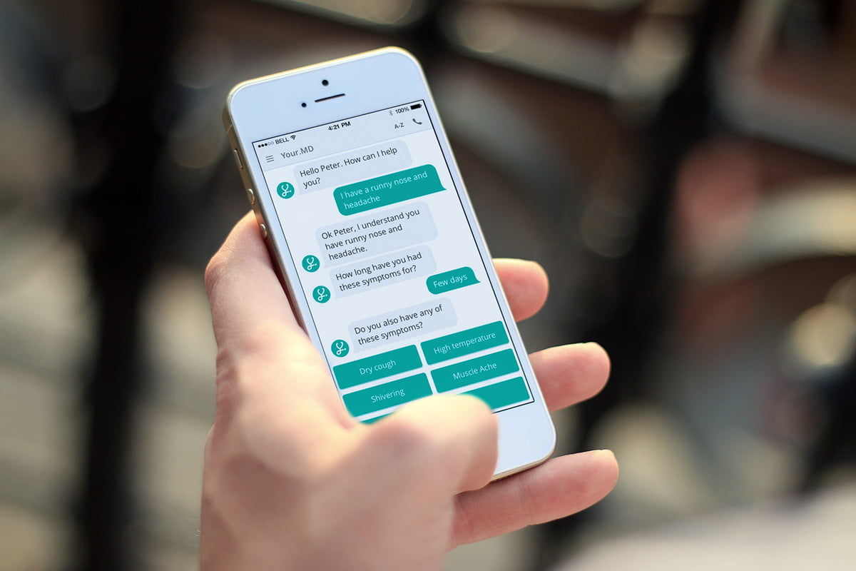 artificial intelligence chatbots are revolutionizing healthcare yourmd iphone