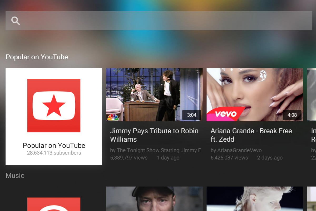 youtube launching new app design set top boxes consoles for tv