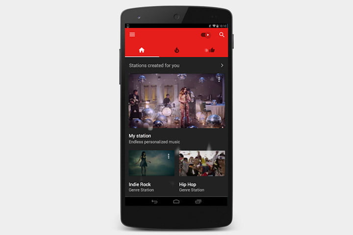 youtube-music-screen
