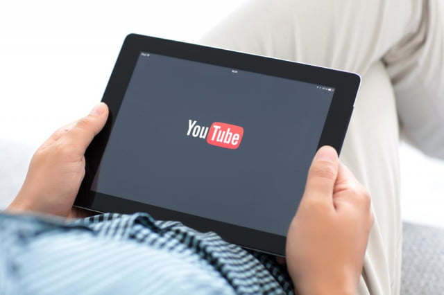 youtube dmca protection on a tablet