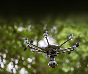 FLUSH WITH HIGH-END FEATURES, YUNEEC'S TYPHOON H DRONE FLIES AWAY FROM THE COMPETITION