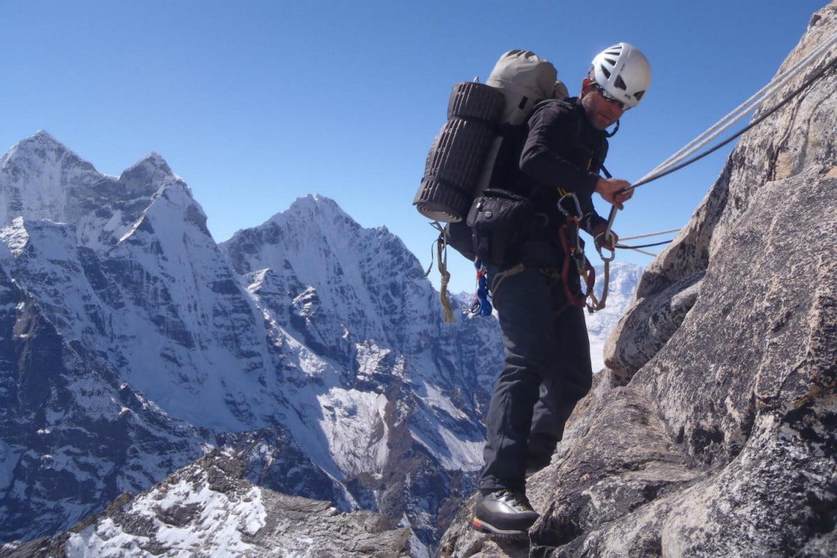 mountain climber heading to mount everest control his smart home z wave