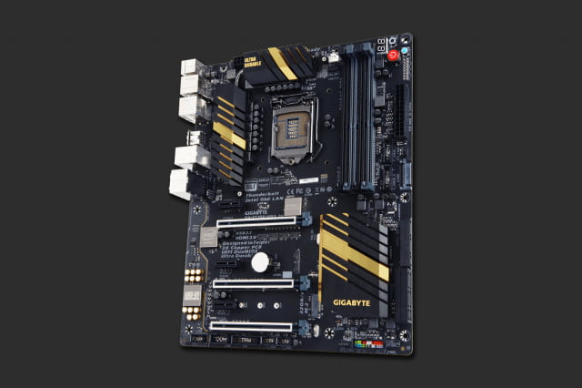 thunderbolt  coming to desktops with the gigabyte z x ud th motherboard xthunderboltmobo