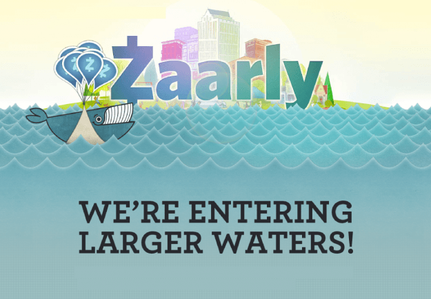 zaarly entering larger waters