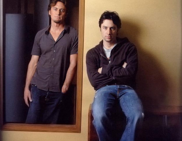 "The first two members of the ""Wish I Was Here"" club; Adam and Zach Braff"
