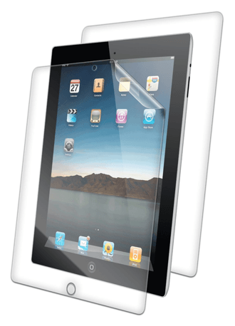 ZAGG InvisibleShield Screen Protector for iPad 2