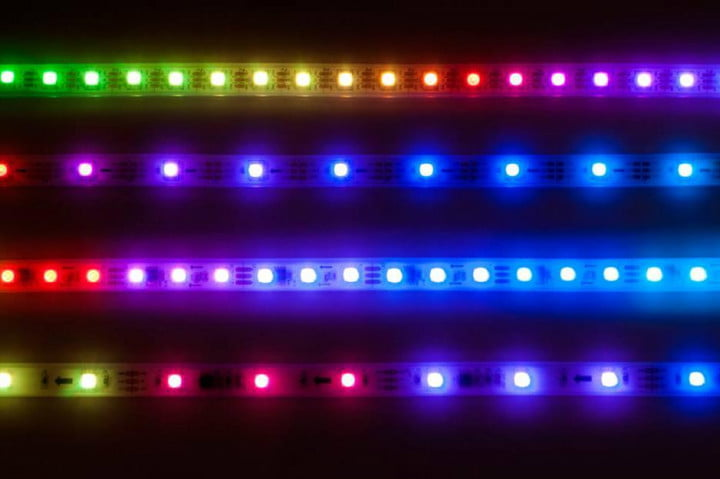 zedcon is a strip of led lights that operate independently light strips colors