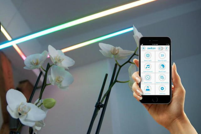 zedcon is a strip of led lights that operate independently app