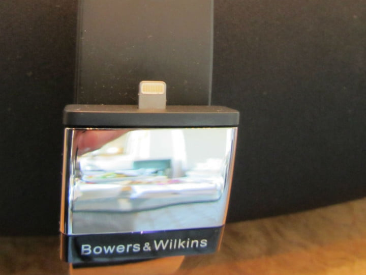 hands on with bowers and wilkins new iphone speaker docks zeppelin lcm connector