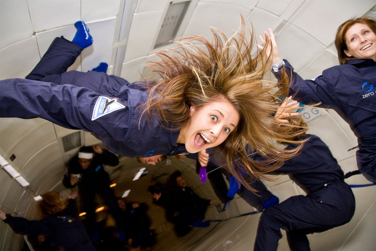places to reach zero gravity within earths pull