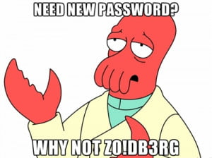 zoidberg-password