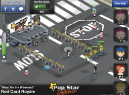 zombie pop star defense
