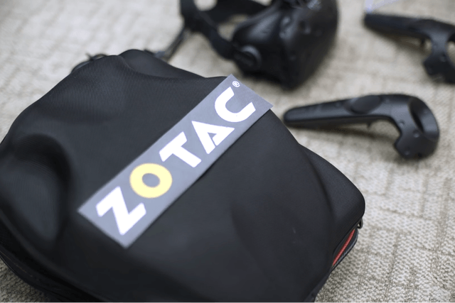 zotac lineup on display at computex  mobile vr
