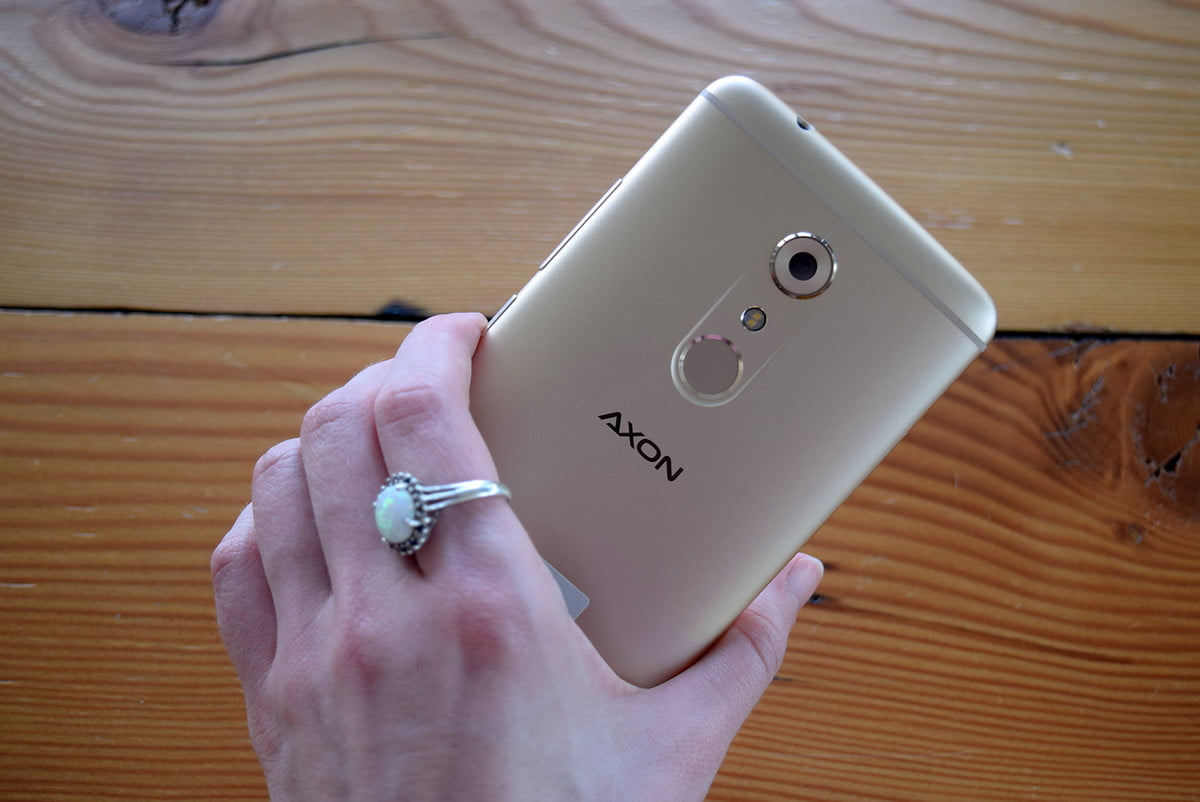 best cheap phones zte axon  hands on