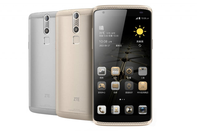 china building secure smartphones zte axon mini full