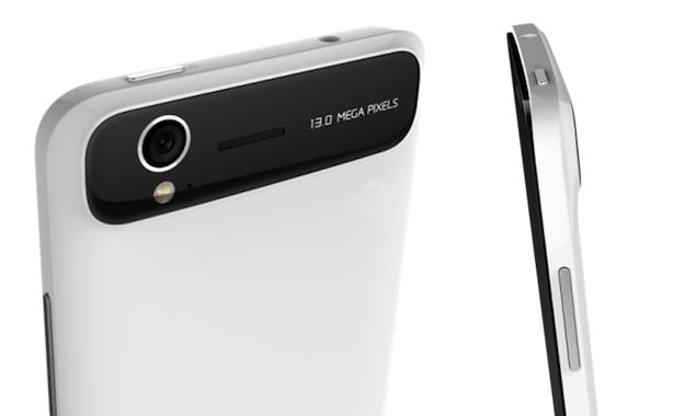 ZTE Grand S Rear and Side