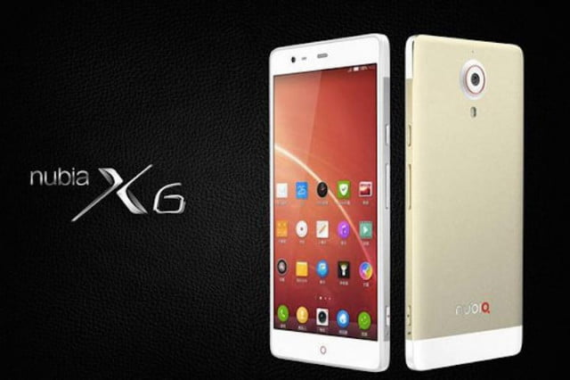 zte nubia x  launches with two megapixel cameras logo