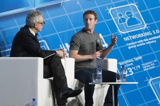 learned mark zuckerberg  mobile world congress mwc