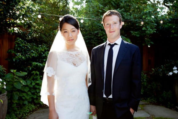 zuckerberg marriage to priscilla chan