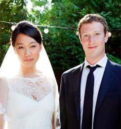 zuckerberg married sq